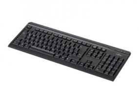 Fujitsu KB410 - Tastatur - USB - Deutsch - Schwarz
