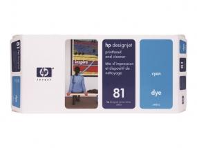 HP - Cyan - Druckkopf mit Reiniger - für DesignJet