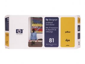 HP - Gelb - Druckkopf mit Reiniger - für DesignJet