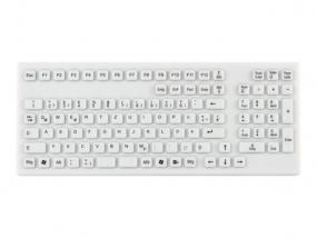 InduKey - TKG-106-IP68-WHITE Tastatur - USB - DEU
