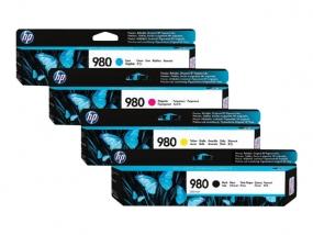 HP 980 - 1 - Cyan - Tintenpatrone - für Officejet