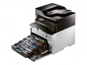 Samsung CLX 4195FN - Multifunktionsdrucker - Farbe