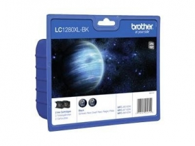 Brother LC1280XL Twin-Pack - 2er-Pack - Schwarz