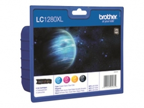 Brother LC1280XL Value Pack - 4er-Pack alle Farben