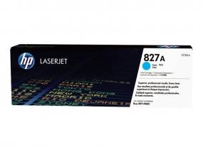HP 827A - Cyan - Original - LaserJet