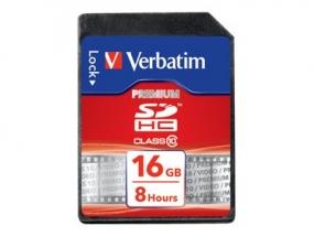 Verbatim - Flash-Speicherkarte - 16 GB - Class 10