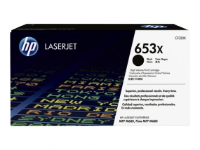 HP 653X Schwarz Original Toner ca. 21.000 Seiten