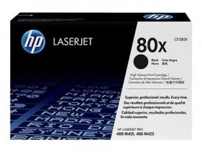 HP 80X - Schwarz - Original - ca. 6.900 Seiten