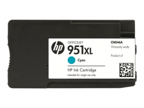 HP 951XL - Hohe Ergiebigkeit - Cyan - Original
