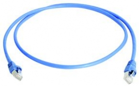 Telegärtner Patch-Kabel - SFTP - 20m - blau