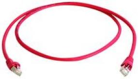 Telegärtner Patch-Kabel - SFTP - 50m - rot