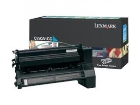 Lexmark - Cyan - Original - Tonerpatrone LCCP, LRP