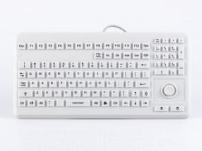 InduKey - TKG-104-MB-IP68-VESA-GREY-PS/2-DE